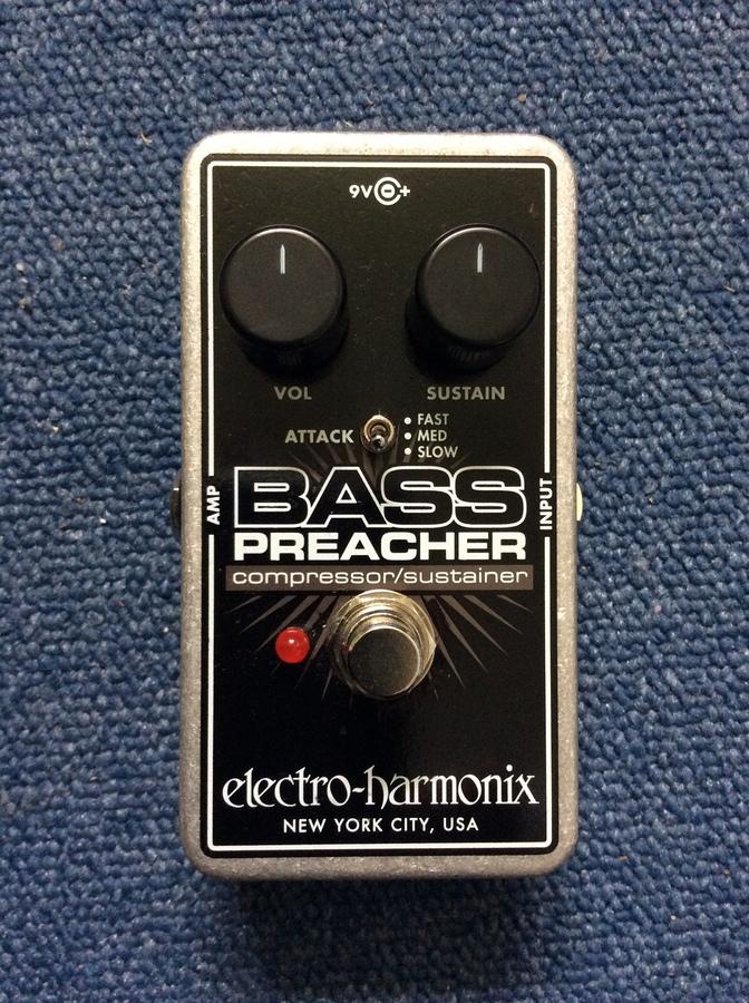 Electro-Harmonix Bass Preacher Matt.Bass images