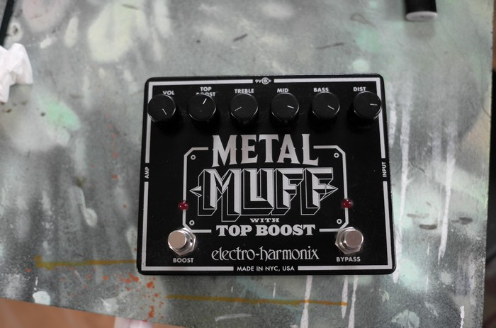 Electro-Harmonix Metal Muff with Top Boost (50484)