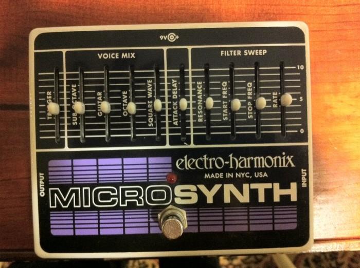 electro harmonix micro synth image 2059649 audiofanzine. Black Bedroom Furniture Sets. Home Design Ideas