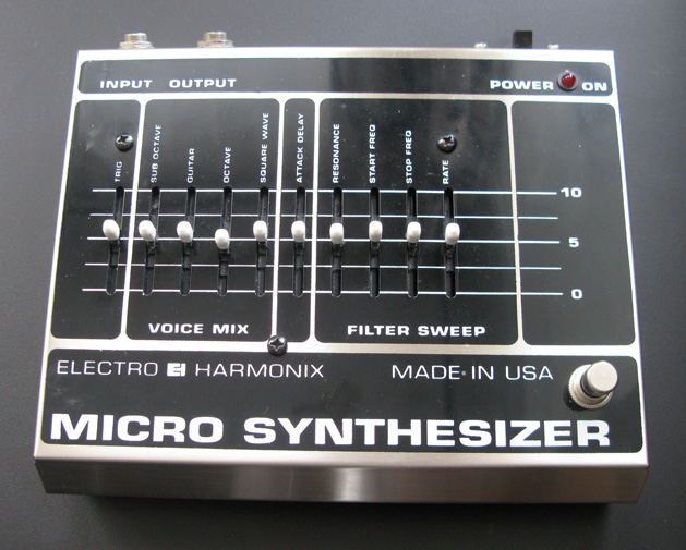 electro harmonix micro synthesizer image 295752 audiofanzine. Black Bedroom Furniture Sets. Home Design Ideas