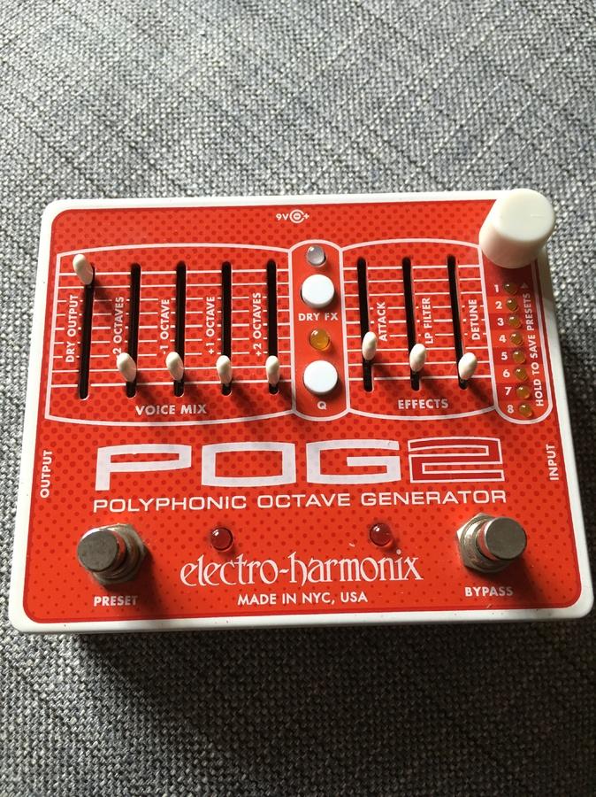 Electro-Harmonix POG2 Kramus Deluxe images