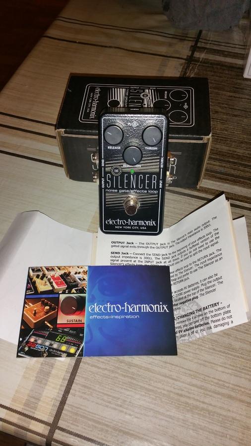 Electro-Harmonix The Silencer ferte images