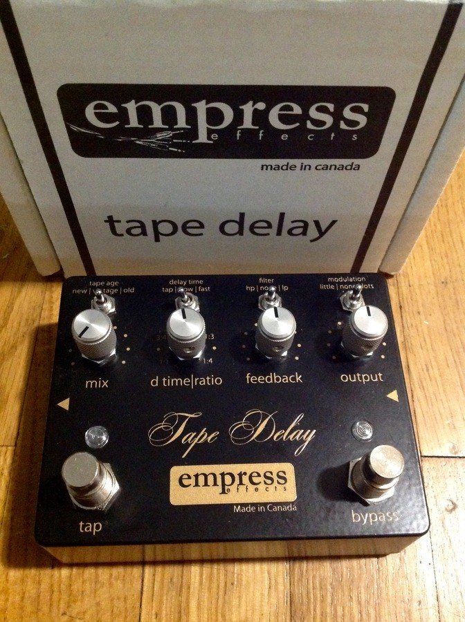Empress Effects Tape Delay (94023)