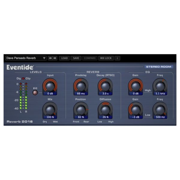 Eventide Reverb 2016 Stereo Room (89270)