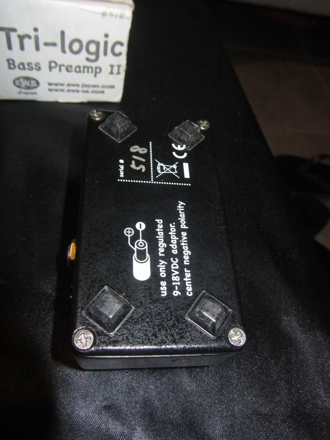 EWS Tri-Logic Bass Preamp 2 (36769)