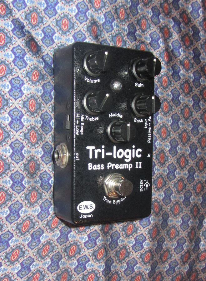 EWS Tri-Logic Bass Preamp 2 (31659)