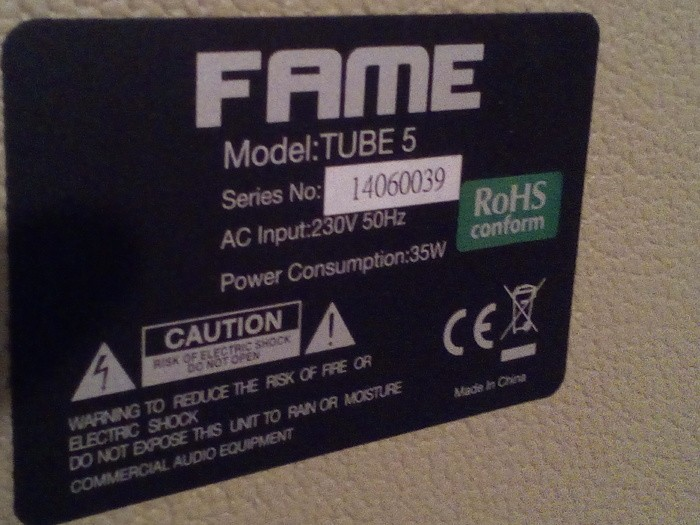 Fame Tube 5 Special (63441)