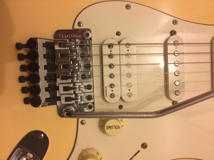 Fender American Special Floyd Rose Classic Stratocaster HSS (9684)