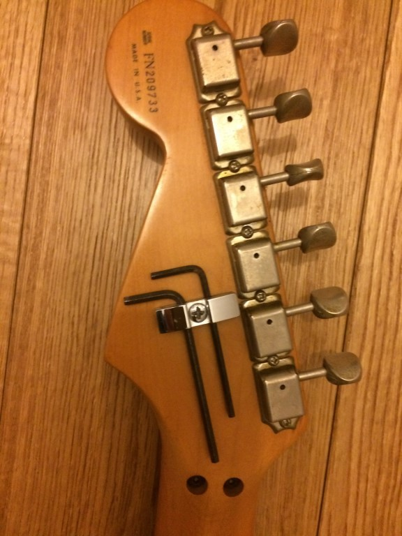 Fender American Special Floyd Rose Classic Stratocaster HSS (60336)