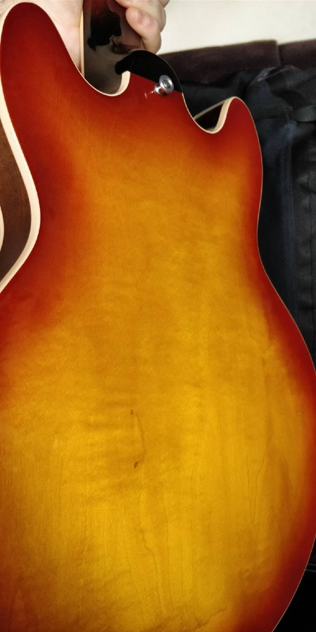 Gibson ES-339 30/60 Slender Neck - Light Caramel Burst (6256)