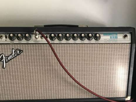 Electrique Ampli guitare Fender Bandmaster reverb 1975