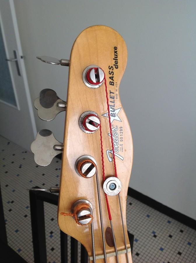 Fender Bullet Bass Deluxe B-34 (40449)
