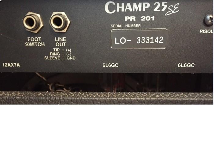 fender champ 25 2003697