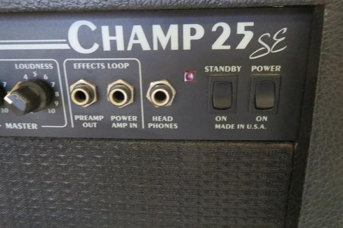 Fender Champ 25 SE (60227)