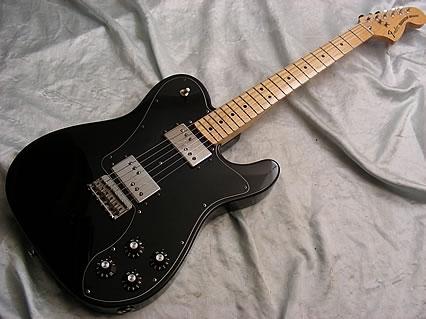 Fender Telecaster Deluxe Black 103