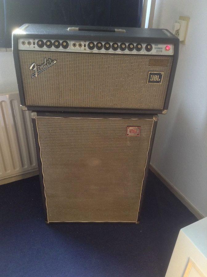 Fender Dual Showman Reverb (SilverFace) (89912)