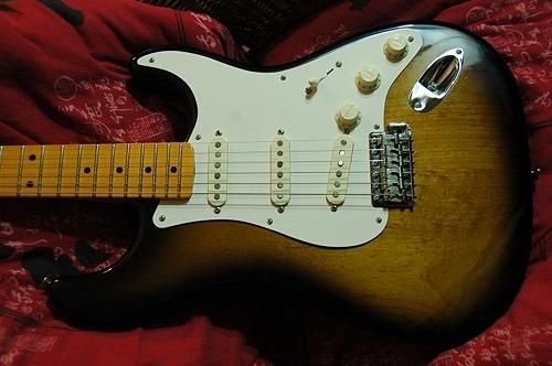 Fender Eric Johnson Stratocaster Maple Miles images