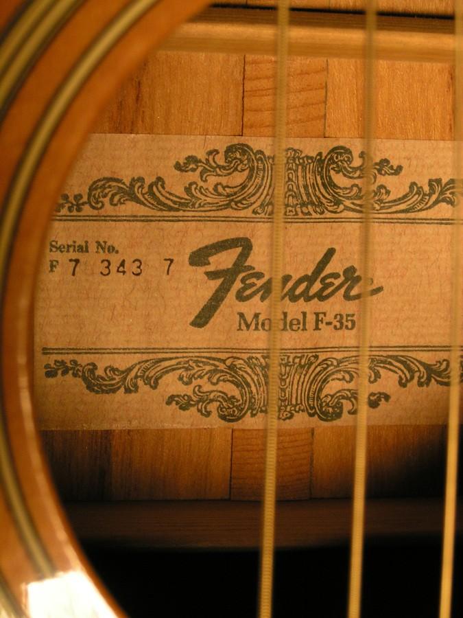 Fender F-35 (89799)