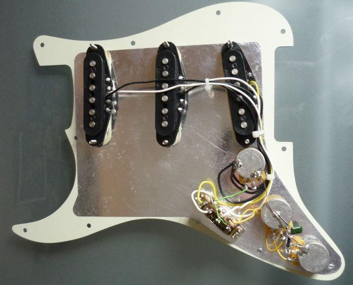 Fender Pickups Wiring Diagram Fender Hot Noise Less Pickups Wiring