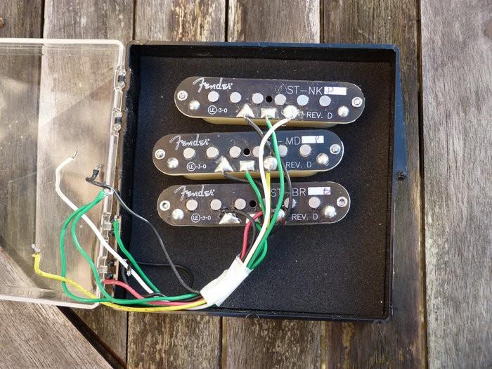 Fender Mod Shop Samarium Cobalt Noiseless Stratocaster Pickups (50196)