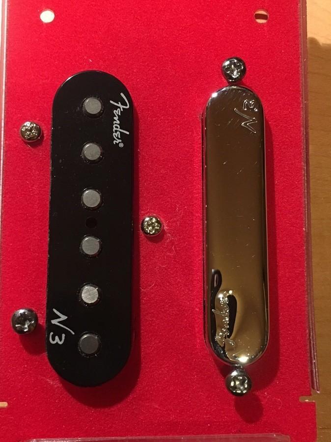 Fender N3 Noiseless Tele Pickups Set (29359)