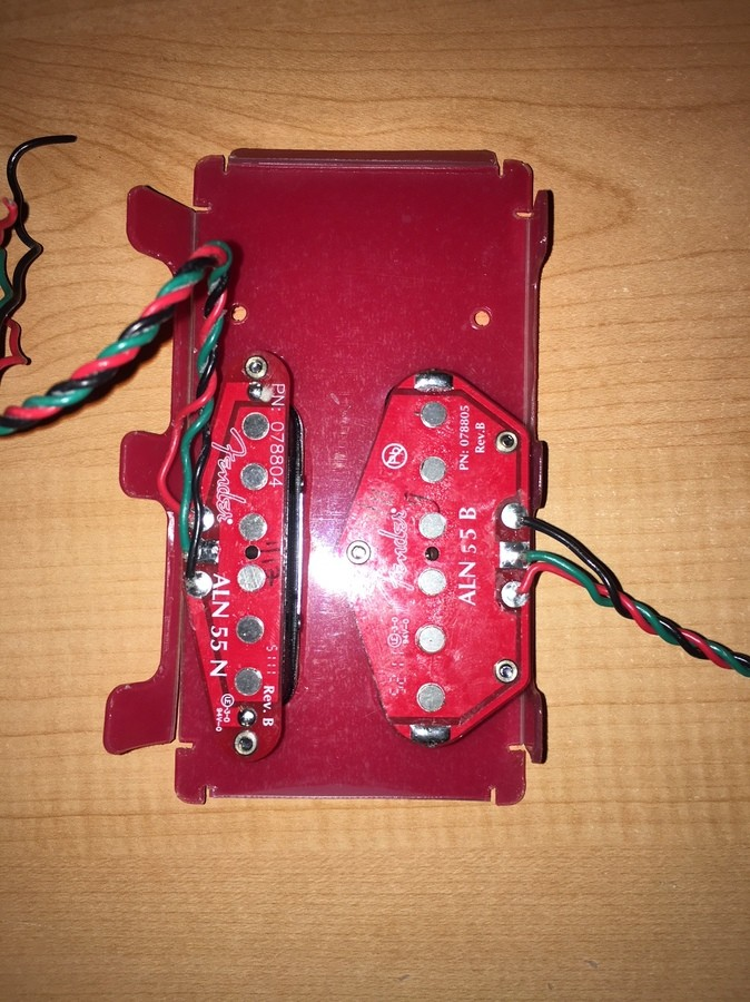 Fender N3 Noiseless Tele Pickups Set (31812)