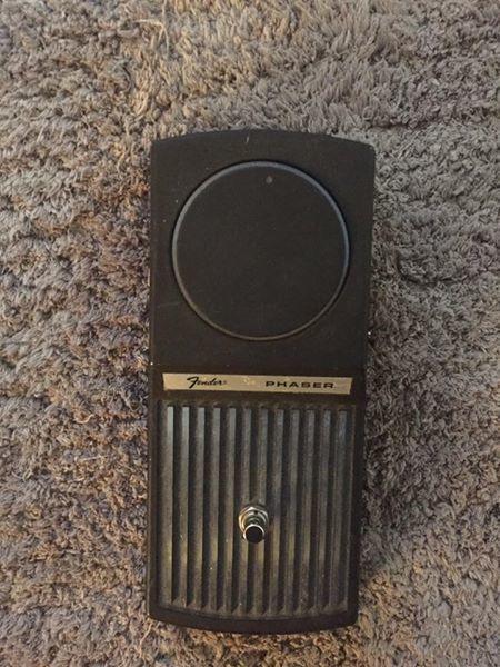 Fender Phaser Pedal Reissue (49521)