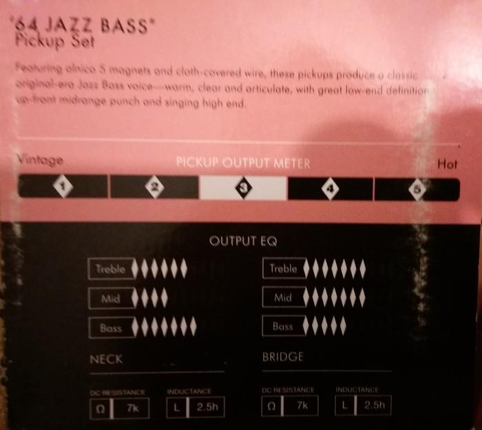 micros fender jazz bass custom shop pure vintage vintage 64 4