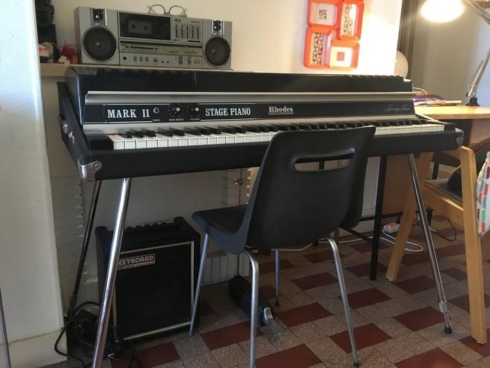 Fender Rhodes Mark I Stage Piano (554)