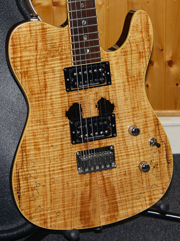 Fender Spalted Maple Tele Custom Spalted Maple Tele