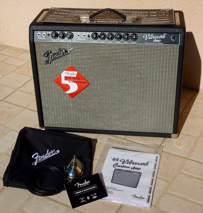 Fender Vibroverb Custom '64  (63027)
