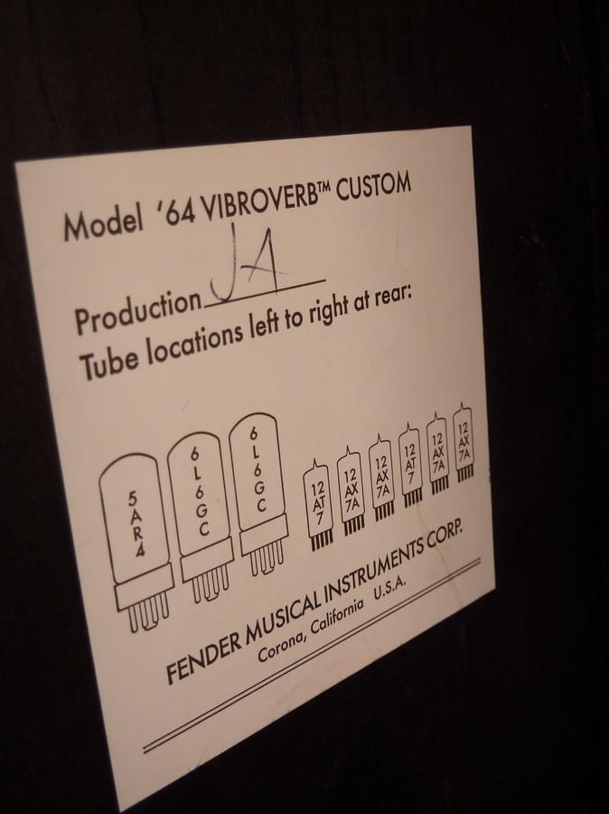 Fender Vibroverb Custom '64  (17302)