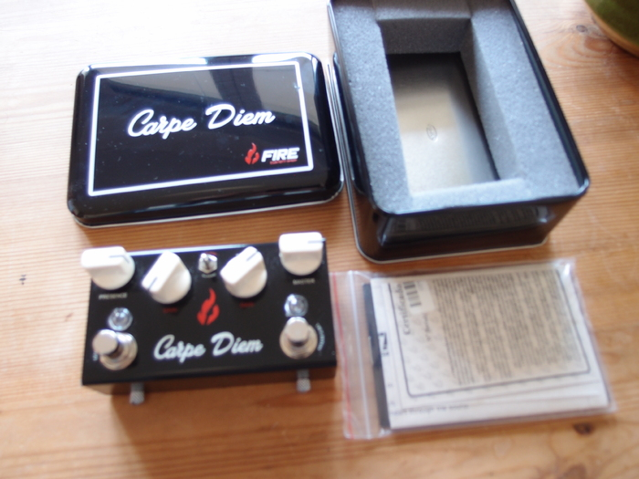 fire custom shop carpe diem image 1731536 audiofanzine. Black Bedroom Furniture Sets. Home Design Ideas