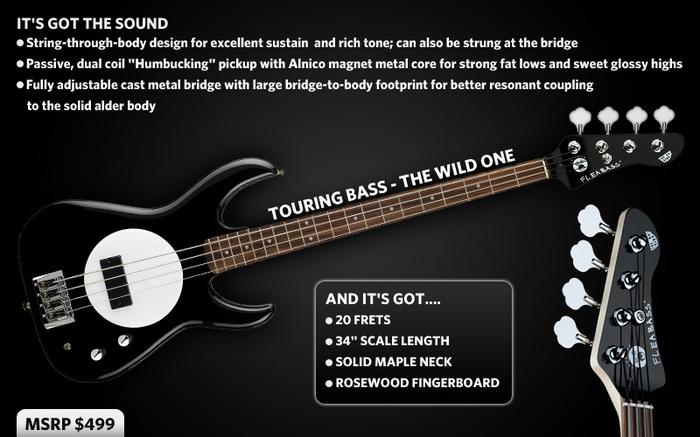 User reviews: Fleabass Bass Guitars - Audiofanzine