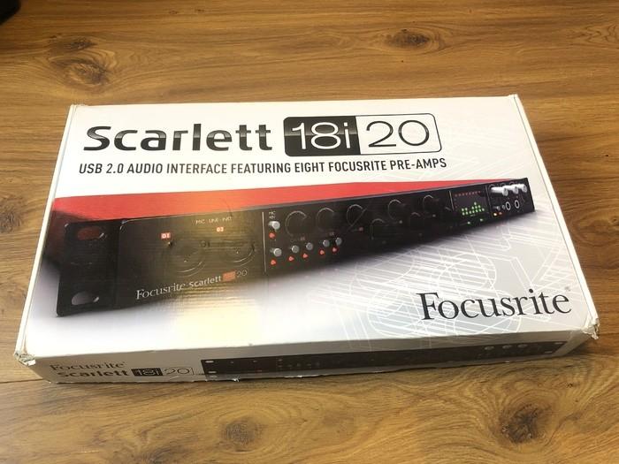 Focusrite Scarlett 18i20