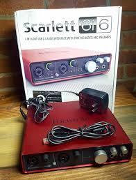 Focusrite Scarlett 6i6 (14393)