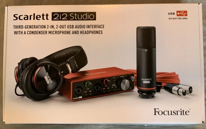 Focusrite Scarlett Studio Pack G3
