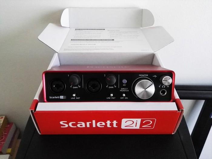 focusrite scarlett 6i6 manual pdf
