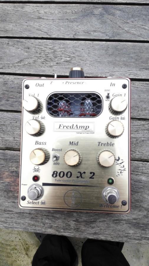 FredAmp The 800x2 préamp (14490)