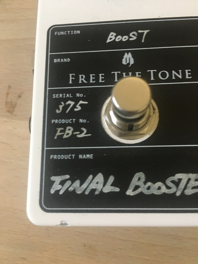 Free The Tone Final Booster FB-2 (80430)
