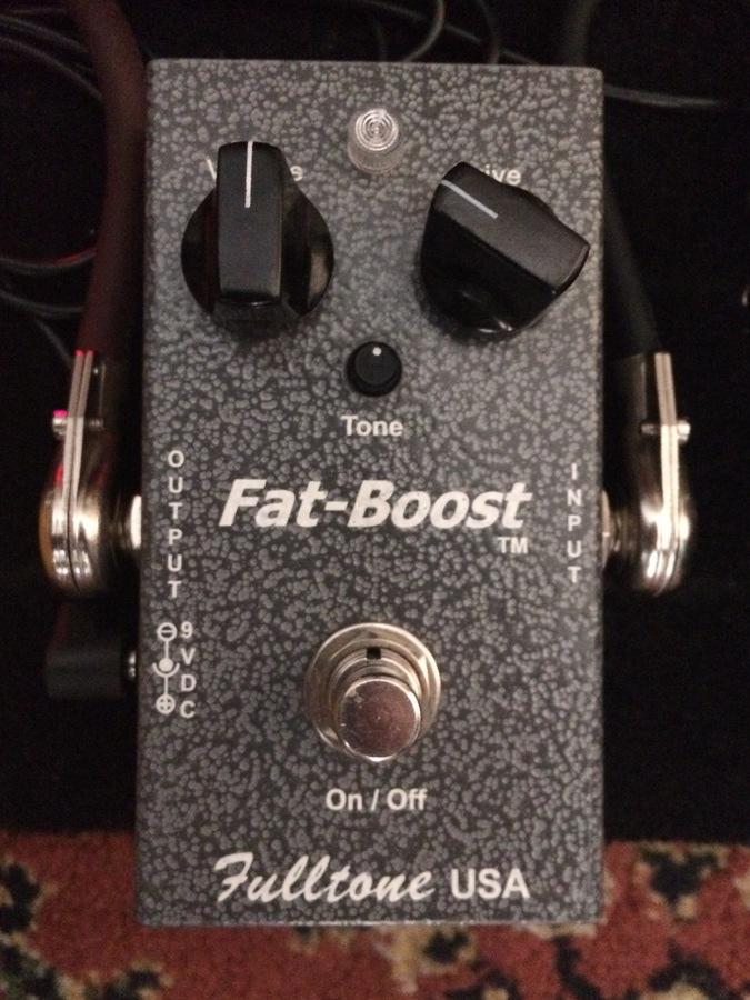 fulltone fat boost 3 manual
