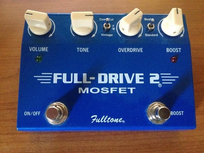 fulltone full drive 2 mosfet 530890