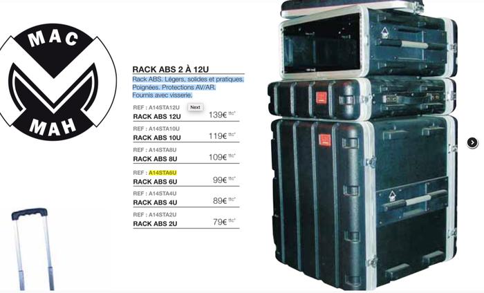 Gator Cases GM-15-TSA (53495)