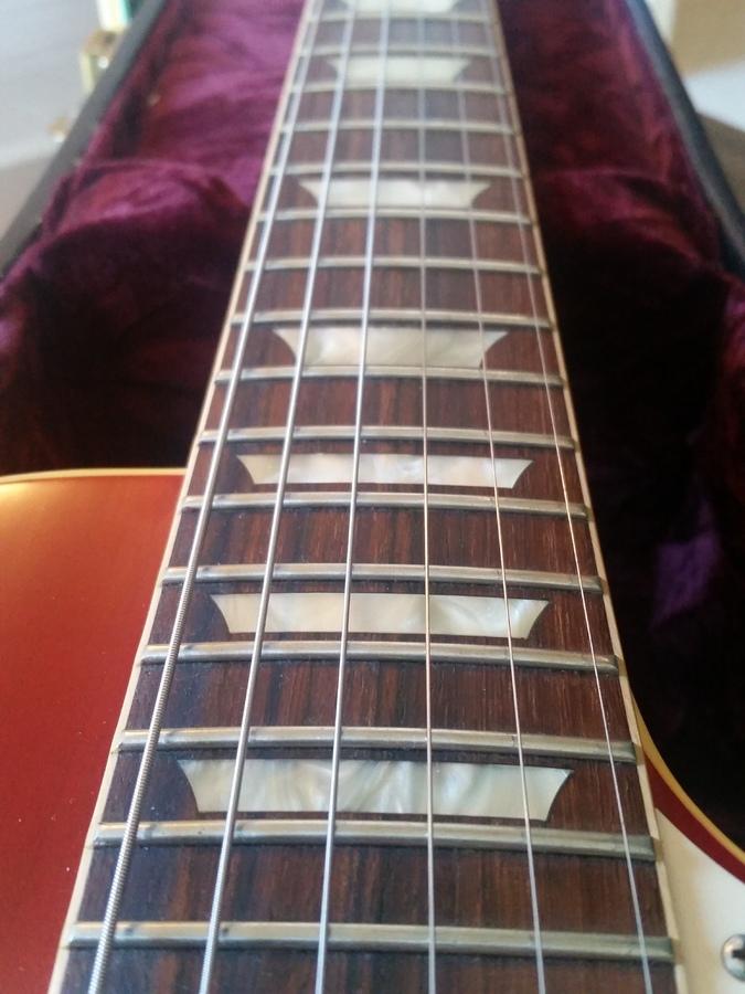 Gibson 1958 Les Paul Plain Top Reissue VOS clear_guitar images