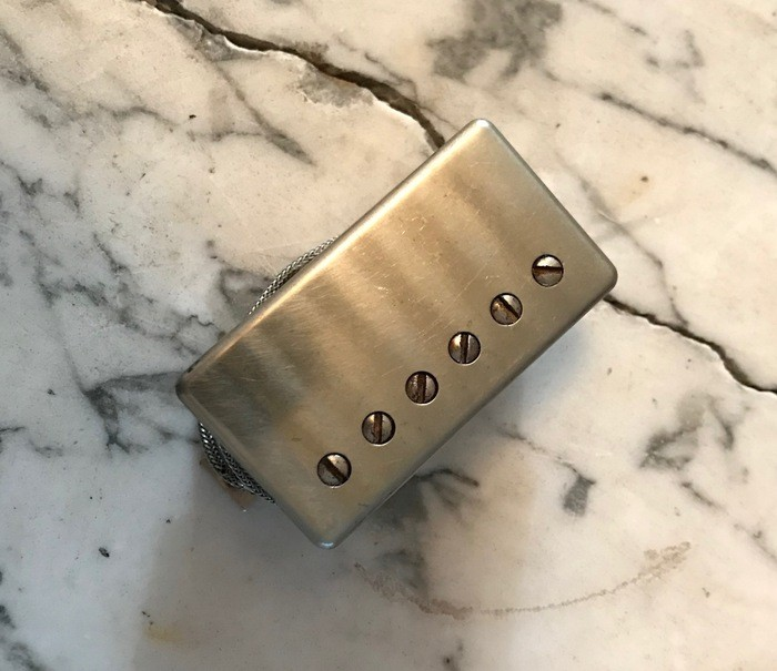 Gibson Burstbucker 1 - Nickel Cover (90928)