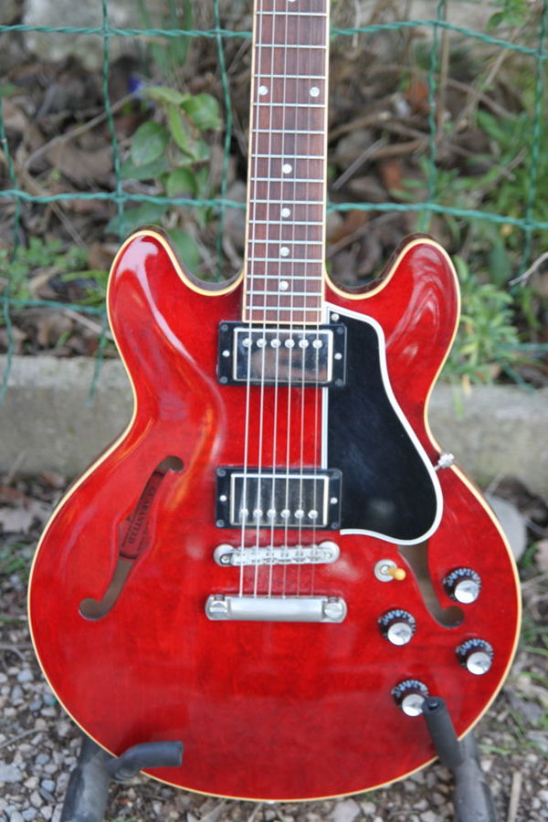 Gibson ES-339 30/60 Slender Neck - Antique Red (7122)
