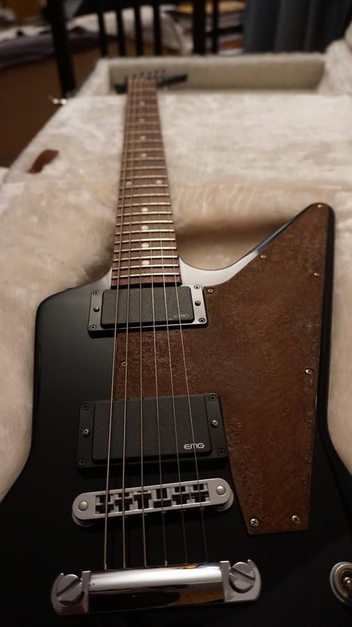 Gibson Explorer '76 Reissue - Ebony (39828)