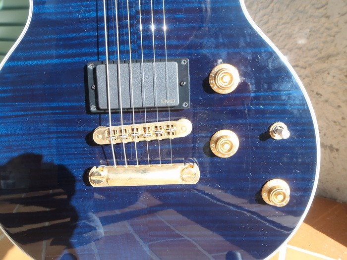 Gibson [Guitar of the Month - July 2008] Longhorn Double Cut - Trans Blue (93202)