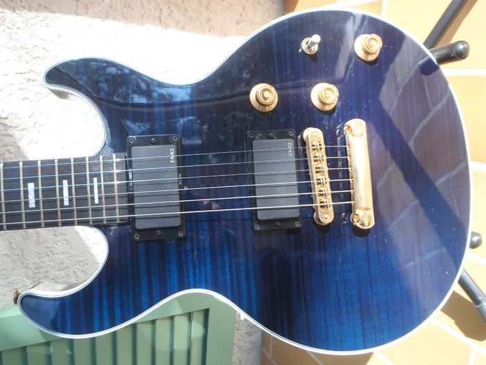 Gibson [Guitar of the Month - July 2008] Longhorn Double Cut - Trans Blue (67914)