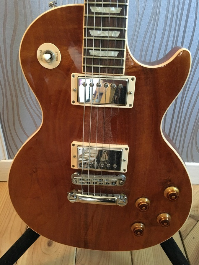 Gibson Les Paul Standard 2013 - Koa Translucent Amber Linoadc images